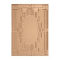 Spellbinders Texture Plates Art Deco - Deco Squared