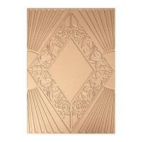 Spellbinders Texture Plates Art Deco - Sancuary