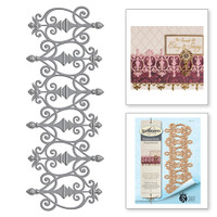 Spellbinders Shapeabilities  By Stacey Caron - Fabulous Fretwork Rouge Royale