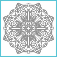 Spellbinder's Celebra'tions Stamps - Doily Fun
