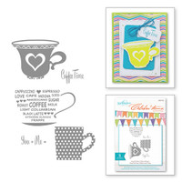 Spellbinder's Celebra'tions Stamps - Cup For Two