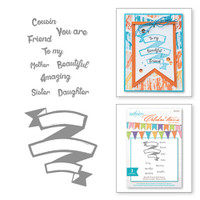 Spellbinder's Celebra'tions Stamps - Beautiful Friend