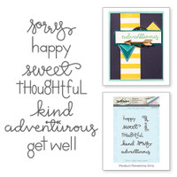 Spellbinders Stamps by Debi Adams  : Thoughts