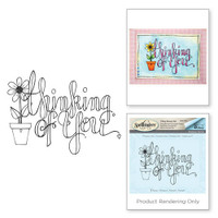Spellbinders Stamps Tammy Tutterow Collection : Thinking of You