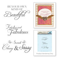 Spellbinders Stamps by Stacey Caron : Feisty And Fabulous Rouge Royale