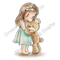 Dreamerland Crafts Cling Stamp - A Friendship Hug