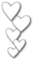 Memory Box Craft Die - Classic Stitched Heart Collection