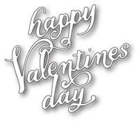 Memory Box Craft Die - Happy Valentines Day Elegant Script