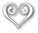 Memory Box Craft Die - Clip Heart