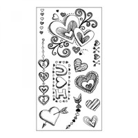Sizzix Clear Stamps by Courtney Chilson- Doodle Love