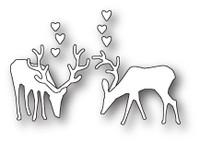 Memory Box Poppystamps Dies - Grazing Deer