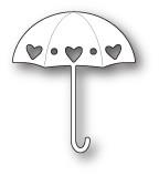 Memory Box Poppystamps Dies - Heart Showers Umbrella