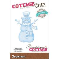 CottageCutz Petites Die - Snowman