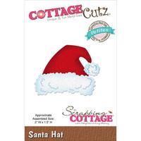 CottageCutz Petites Die - Santa Hat