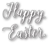 Memory Box Craft Die - Happy Easter Journal Script