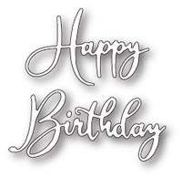 Memory Box Craft Die - Happy Birthday Friendship Script