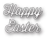 Memory Box Craft Die - Happy Easter Perky Script