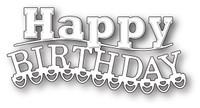 Memory Box Craft Die - Carnival Happy Birthday