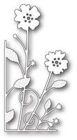 Memory Box Craft Die - Large Antilles Floral Left Corner