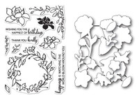 Memory Box Poppystamps Dies and Stamp Bundle: Friends and Flowers