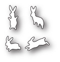 Memory Box Poppystamps Dies - Leaping Little Bunnies
