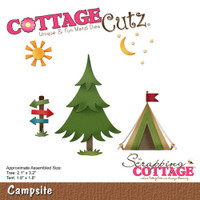 CottageCutz Die - Campsite