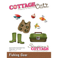 CottageCutz Die - Fishing Gear