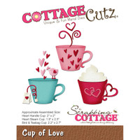 CottageCutz Die - Cup Of Love
