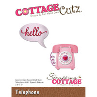 CottageCutz Die - Telephone