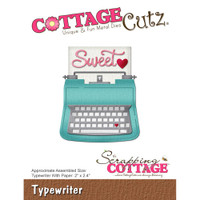 CottageCutz Die - Typewriter