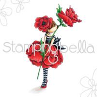 Stamping Bella Stamp: Tiny Townie Garden Girl Poppy