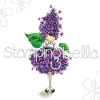 Stamping Bella Stamp: Tiny Towney Garden Girl Lilac