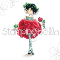 Stamping Bella Stamp: Garden Girl Rose
