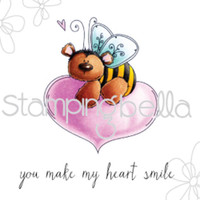 Stamping Bella Stamp: The Bee And The Heart