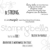 Stamping Bella Stamp: Dragon Sentiments