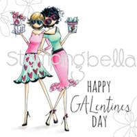 Stamping Bella Stamp: Gwyneth & Gloria Celebrate Galentines