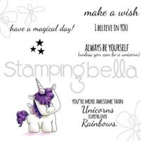 Stamping Bella Stamp: Unicorn Sentiments