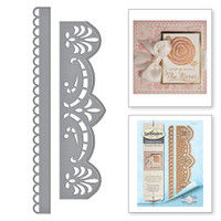 Spellbinders Card Creator  Etched Dies Amazing Paper Grace by Becca Feeken: Graceful Brackets