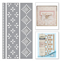 Spellbinders Card Creator  Etched Dies Amazing Paper Grace by Becca Feeken: Graceful Eyelets