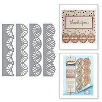 Spellbinders Card Creator  Etched Dies Amazing Paper Grace by Becca Feeken: Graceful Fans
