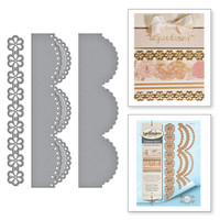 Spellbinders Card Creator  Etched Dies Amazing Paper Grace by Becca Feeken: Graceful Scallops