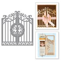 Spellbinders Card Creator A2 Etched Dies : Gate Gatefold