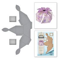Spellbinders Shapeabilities  Etched Dies Celebrate the Day by Marisa Job - Flower Top Box