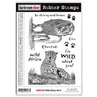 Darkroom Door Cling Stamp: Wild Africa 2