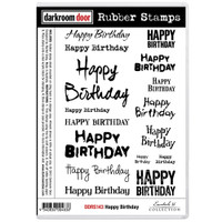 Darkroom Door Cling Stamp: Happy Birthday