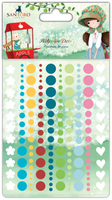 doCrafts Kori Kumi by Santoro  Adhesive Dots 150/Pkg - Assorted Colors
