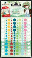 Kori Kumi by Santoro  Adhesive Dots 150/Pkg - Assorted Colors