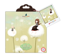 "Kori Kumi by Santoro  Double Sided 8""X8"" Paper Pack 36/Sheets 24 Designs"