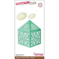 CottageCutz Die - Elegant Favor Box Made Easy