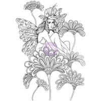 Prima Princesses Cling Stamp - Anastasia